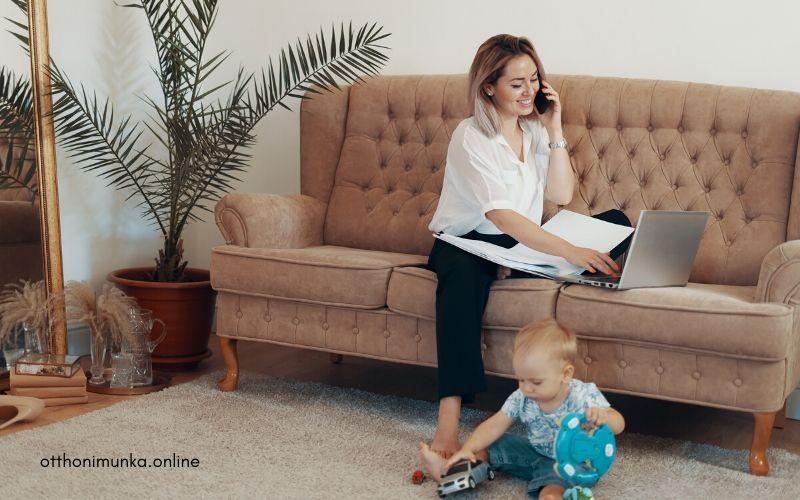 Így dolgozz otthonról gyerekek mellett